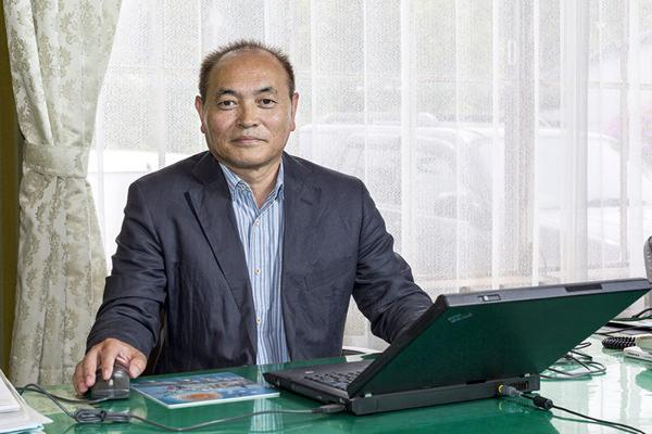 画像:代表取締役社長 村田孝治